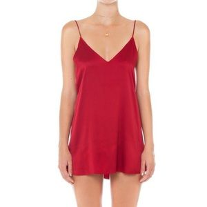 Red Are You Am I Zillah Dress
